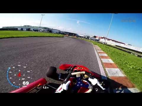 Kartodromo Orobico Curno - turno di Qualifiche (best 39.50s)