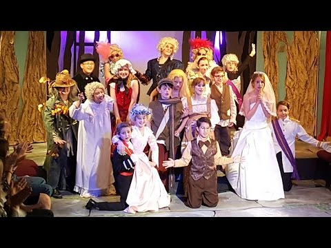 Into the Woods Jr. Childrens theatre. 4-30-2016 act 1