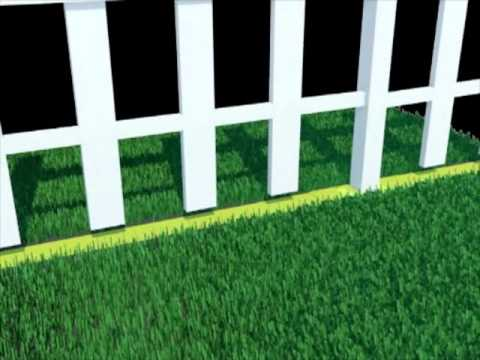 Ian Bill Fence Line Weed Guard Youtube