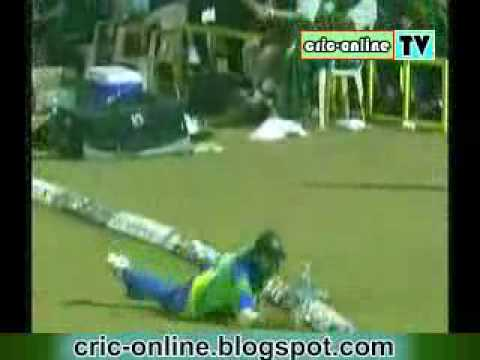 justin kemp amazing catch in ICL final