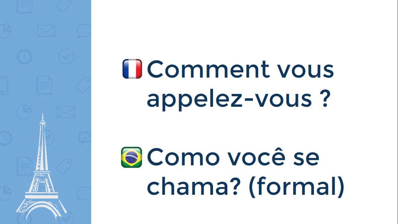 50 Frases Em Francês Descubra 50 Expressões Em Francês Youtube