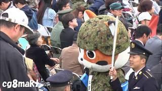 平成30年 自衛隊観閲式 たま.