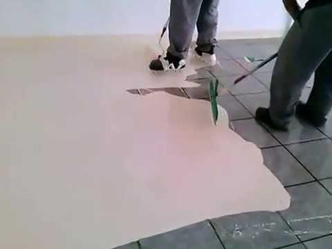 Tinta piso em ceramica quimatecnica 11 4057 2425 youtube - Como pintar sobre azulejos ...