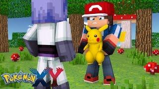 Minecraft: Pokemon X Y - ASH TROCOU O PIKACHU PELA SERENA! #9