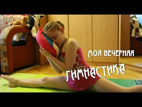 Моя вечерняя гимнастика // Ежедневная зарядка