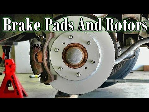 HOW TO REPLACE 4WD BRAKE PADS AND ROTORS