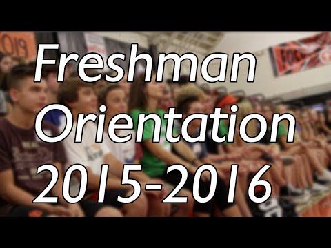 Los Gatos High School Freshman Orientation (2015-2016)