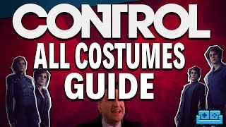 CONTROL | How To Unlock Every Costume Guide