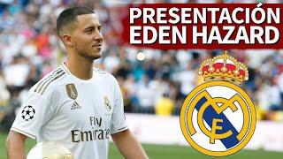 PRESENTACIÓN de HAZARD con el REAL MADRID   Diario AS