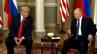Trump tamps down expectations ahead of Putin meeting