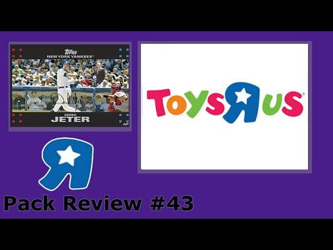 Pack Review #43: Toys R Us 2007 Topps Baseball Rack Pack Discounted