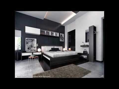 Grayscale Bed room Concepts