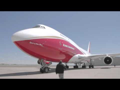 World's largest firefighting plane flies into Colorado Springs