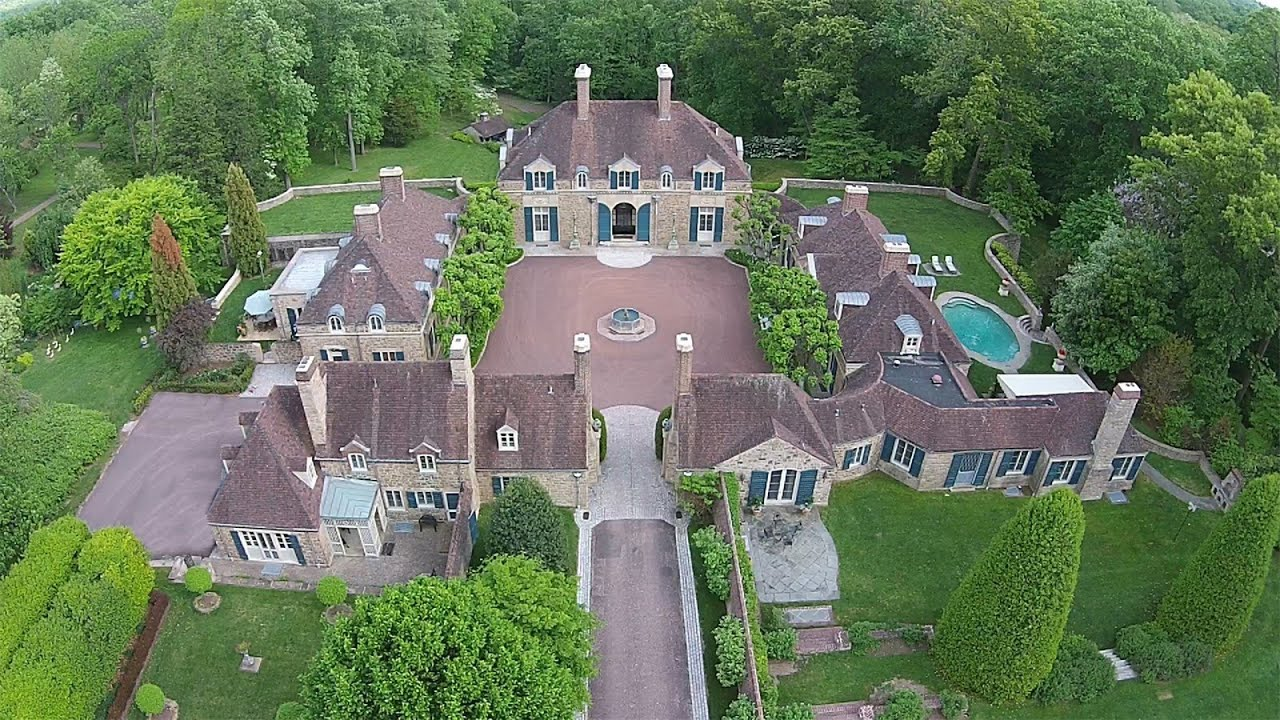 Legendary estate property in gladwyne pennsylvania youtube for What is an estate house