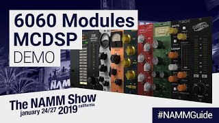 McDSP's 6060 Ultimate Module Collection | NAMM Show 2019
