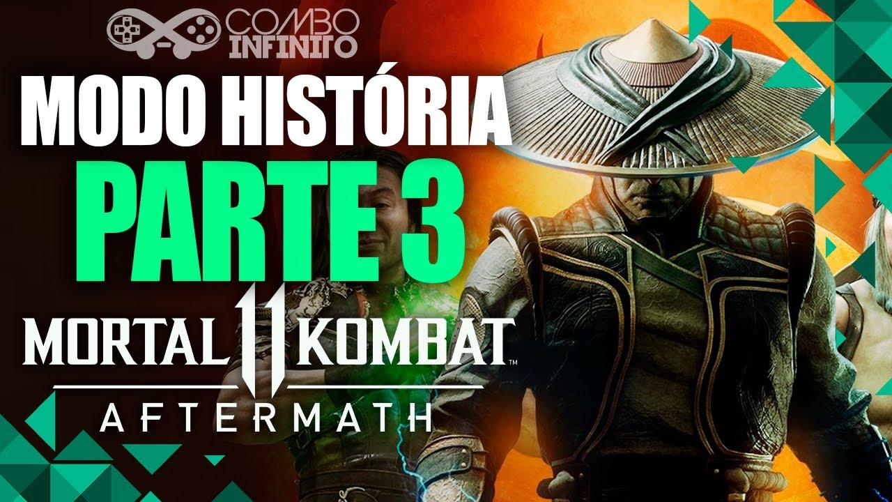 MK11 AFTERMATH: HISTÓRIA COMPLETA DUBLADO PT-BR! PARTE 3