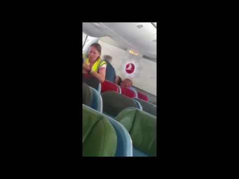 Turkish Airlines Passenger Restrained During Flight, Cries That He'll Be Sent Back to Afghanistan