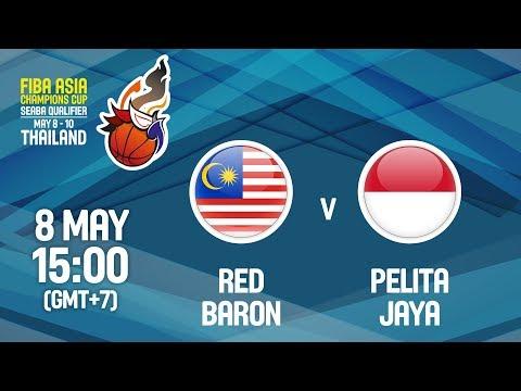Red Baron (MAS) v Pelita Jaya (INA) - Full Game - FIBA Asia Champions Cup 2018 SEABA Qualifier