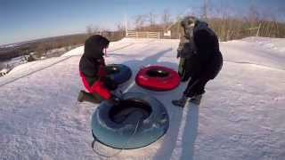 Snow Tubing - GoPro 4: SNOW TUBING at Snow Valley, Barrie ON - Canada [Must watch in 1080p HD]