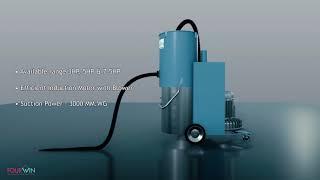 FourWin Heavy Duty Vacuum Cleaner