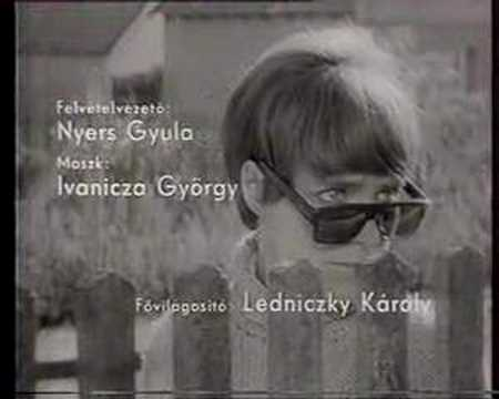 """Opening credits for """"Eltávozott nap"""" (The Girl, 1968)"""