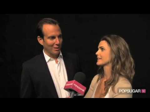 Will Arnett & Keri Russell  Off Their Running Wilde Chemistry