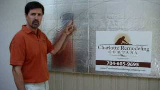 Charlotte Home Remodeling - Drawing the Perfect Segmented Arch