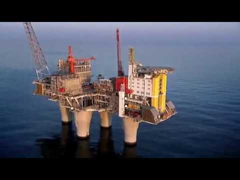 Super Rig  Troll 'A' Gas Platform 12