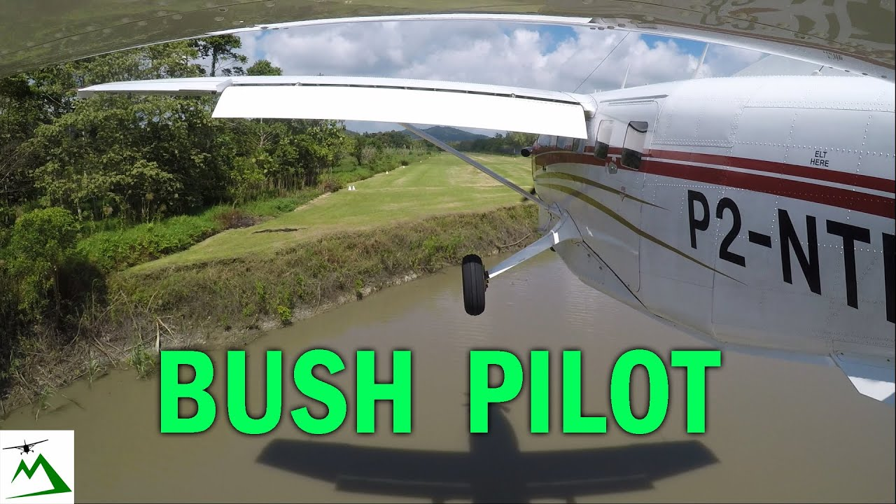 Landing an Airplane in the Swamplands of Papua New Guinea | Bush Pilot Flight Vlog