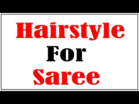 hairstyle-for-saree-||-easy-hairstyles-simple-hairstyle-||-party-hairstyles