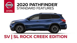 homepage tile video photo for 2020 Nissan Pathfinder Rock Creek Edition Walkaround & Review