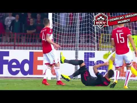 Olivier Giroud Goal vs Crvena Zvezda HD Europa League