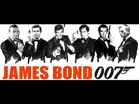 """All trailer ''007"""" from 1962 to 2015"""