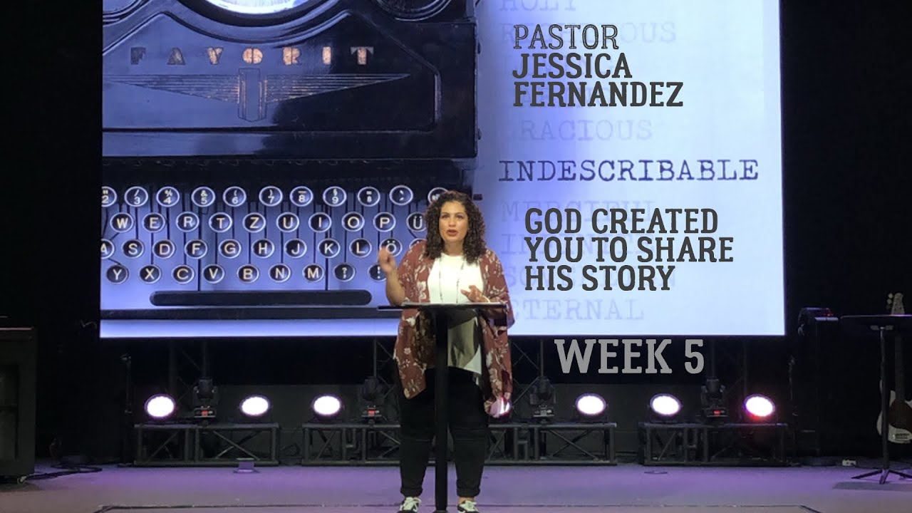 God Created You to Share His Story