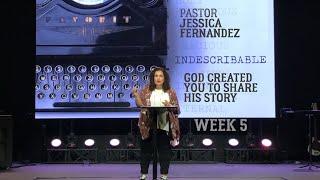 CenterPointe Church Sunday Service [Indescribable - Part 5 - Pastor Jessica Fernandez]