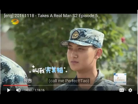 [eng] 20161118 - Takes A Real Man S2 Episode 5/14