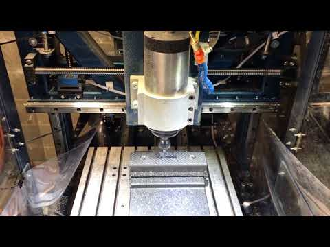 Steel milling with DIY CNC milling machine