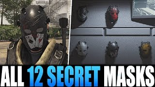 The Division 2 - EASIEST WAY TO GET ALL 12 HUNTER MASKS | HOW TO GET LAST 2 MASKS FAST
