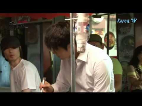 Warmth of the hot food stalls   Jang Tae San   Two Weeks Korean drama 2013   Shooting film