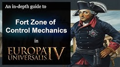 [EU4] An in-depth Guide to Fort Zone of Control Mechanics