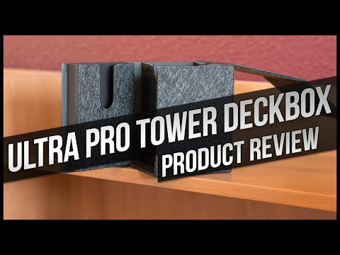 Ultra PRO PRO-TOWER Deckbox Review