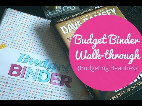 Budget Binder Walk Through