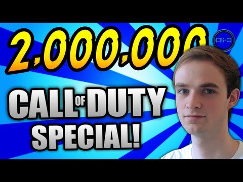 Ali-A 2,000,000 Subscribers! - Call of Duty SPECIAL! - (COD BO2, MW3, BO1, MW2, WaW & COD4)