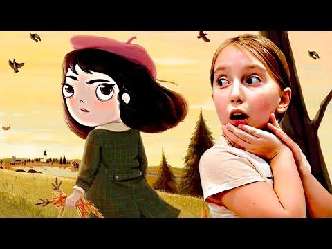 Приключения невезучей девочки. Маленькая Неудача вышла погулять. Мы играем Little Misfortune.