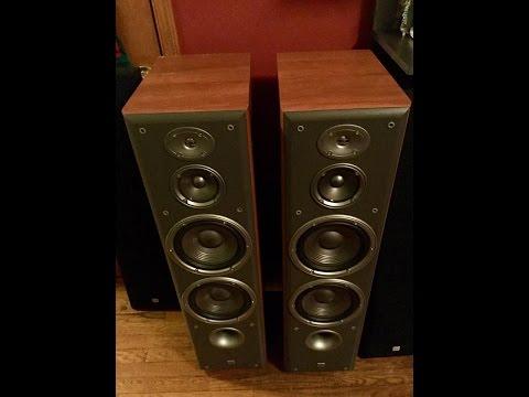 JBL NORTHRIDGE SERIES E90 SPEAKERS Sound Test For Speakers