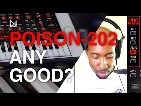 JimAudio Poison-202 - Is This A Worthy IPad Synth?