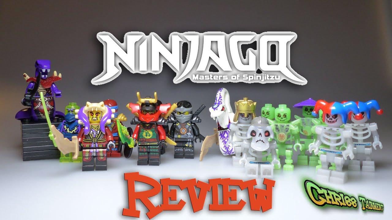 """ninjago """"lego"""" brickfiguren review mit schlangen  youtube"""