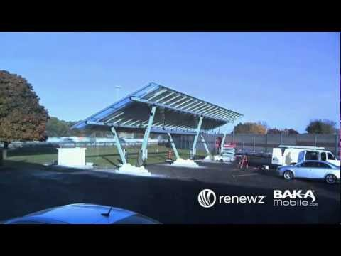 How to Build a Solar Power Carport and Electric Vehicle Char