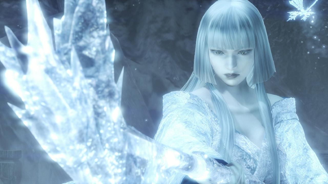 Free Snow Falling Live Wallpaper Nioh Yuki Onna Boss Fight 1080p 60fps Youtube