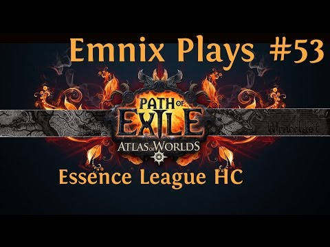 Let's Play: Path Of Exile - Atlas Of Worlds - Mini Golem - Episode 53